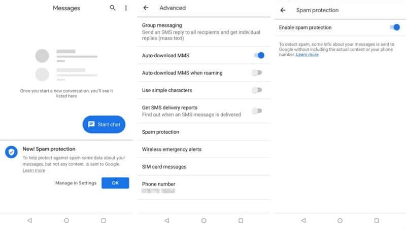 Android Messages will now fight against spam texts - TechSpot
