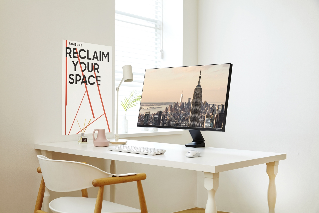 Liberate your desk with Samsung's space-saving monitor
