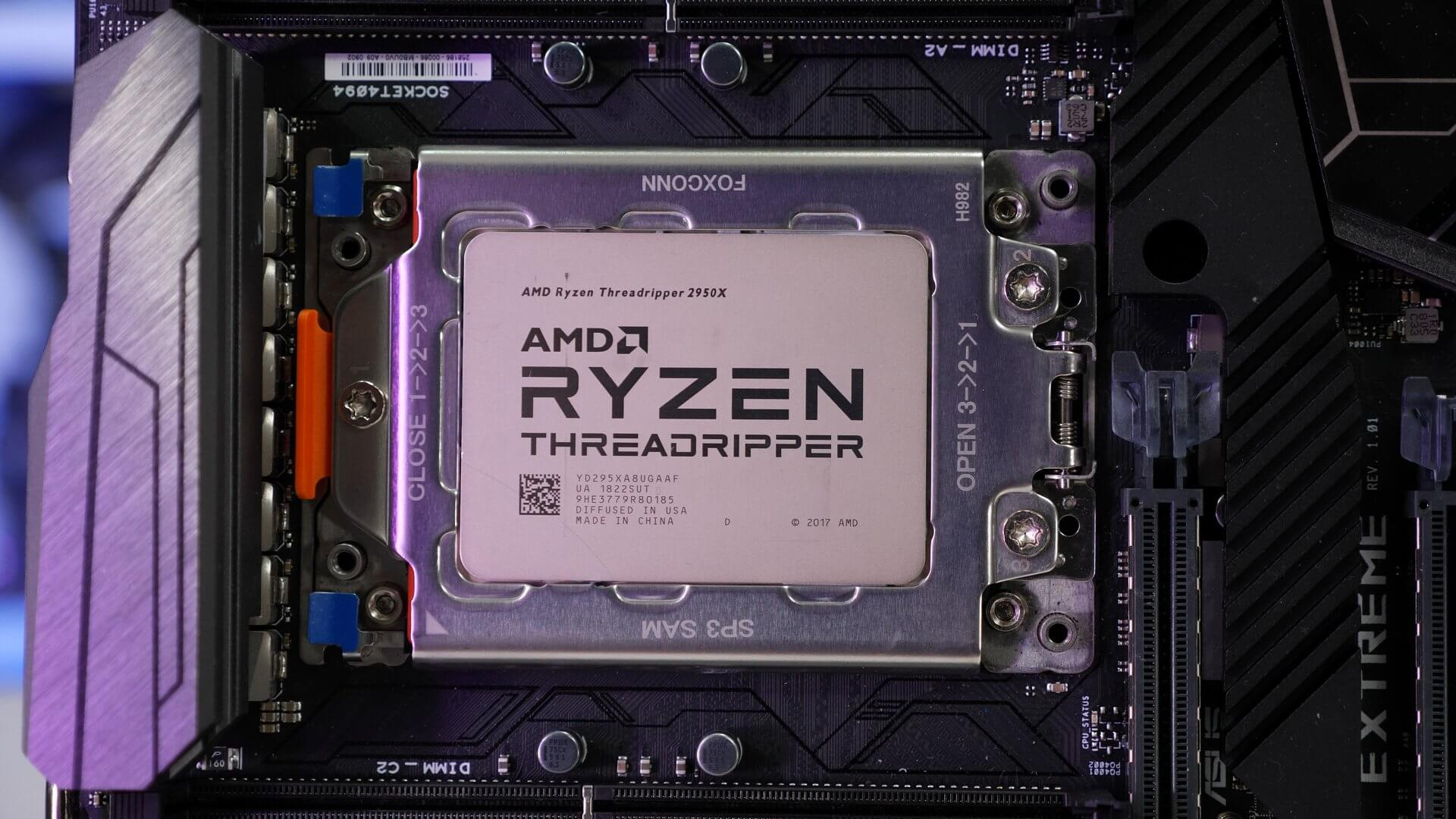 Software fix can double Threadripper 2990WX's performance in certain