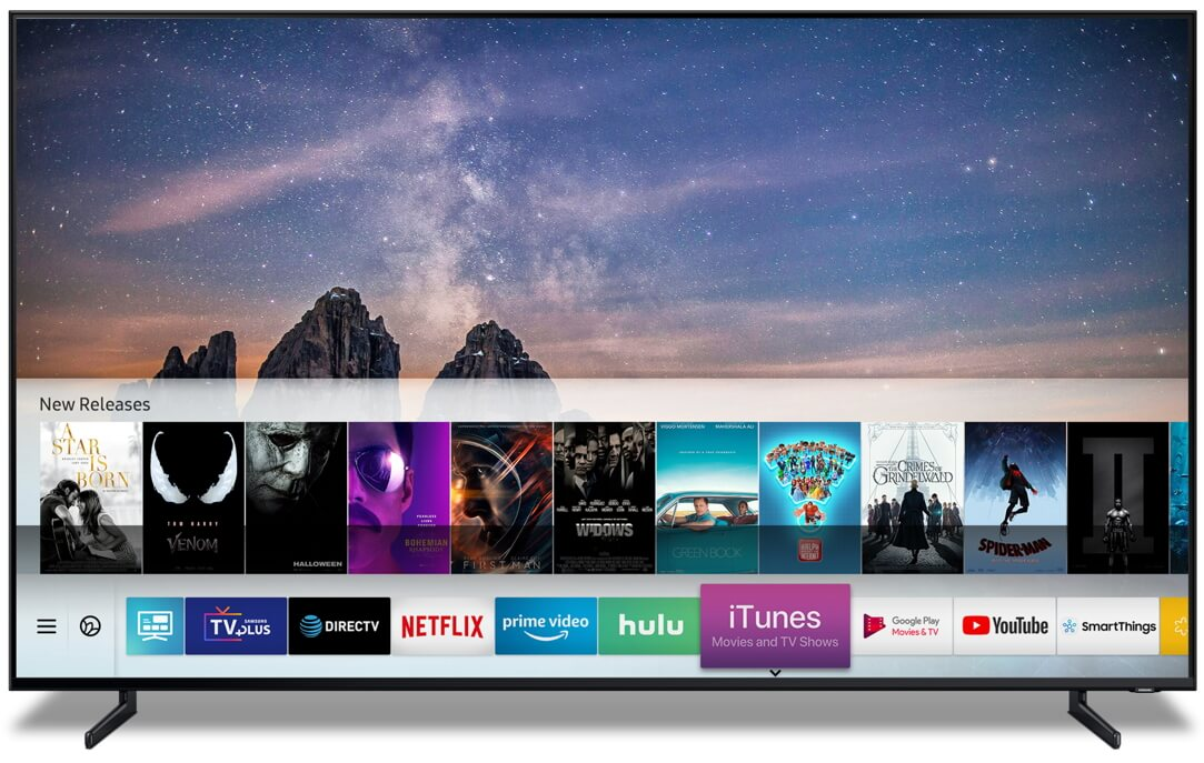 Apple TV services are coming to Samsung smart TVs - TechSpot