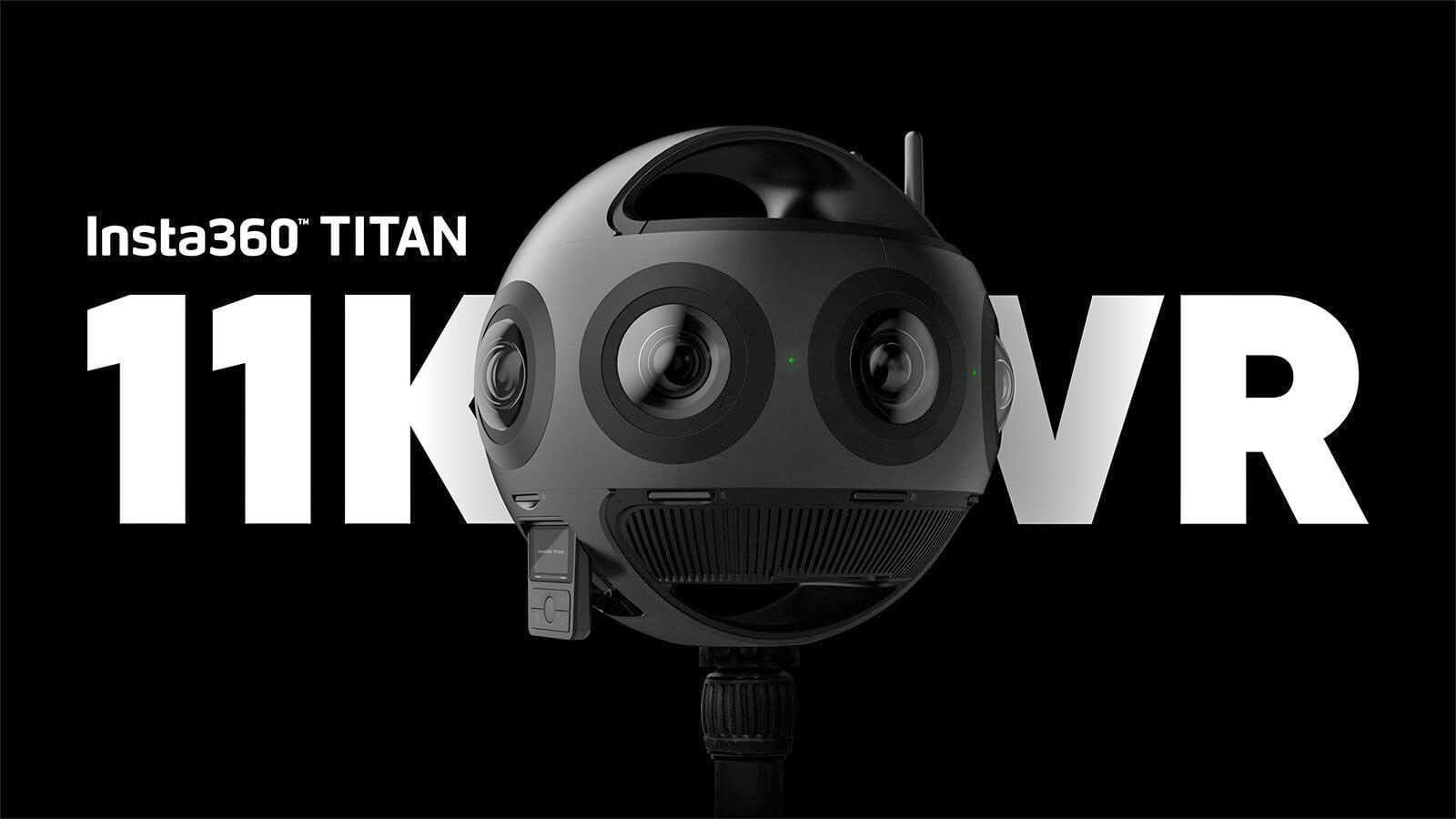 Insta360 to launch Titan 11K VR camera, requires 9 SD cards