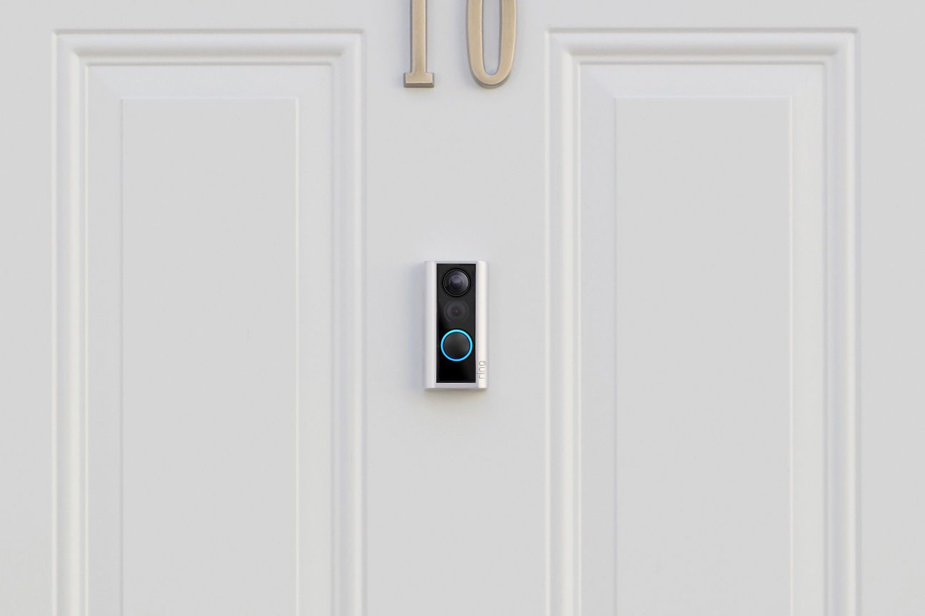 Ring's latest video doorbell doesn't require drilling or permanent modifications