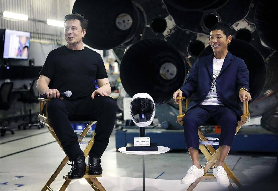 Japanese billionaire cancels search for girlfriend to take on SpaceX trip
