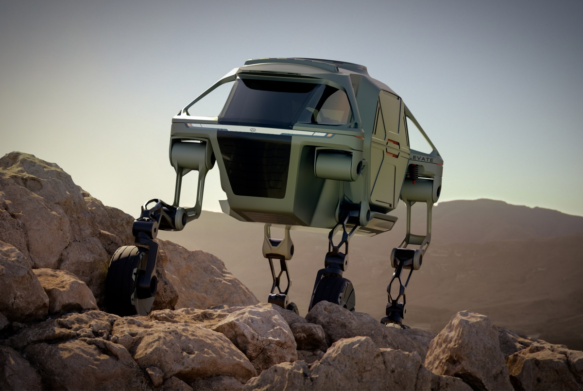 Hyundai sees Walking Car prototype as ideal disaster relief vehicle