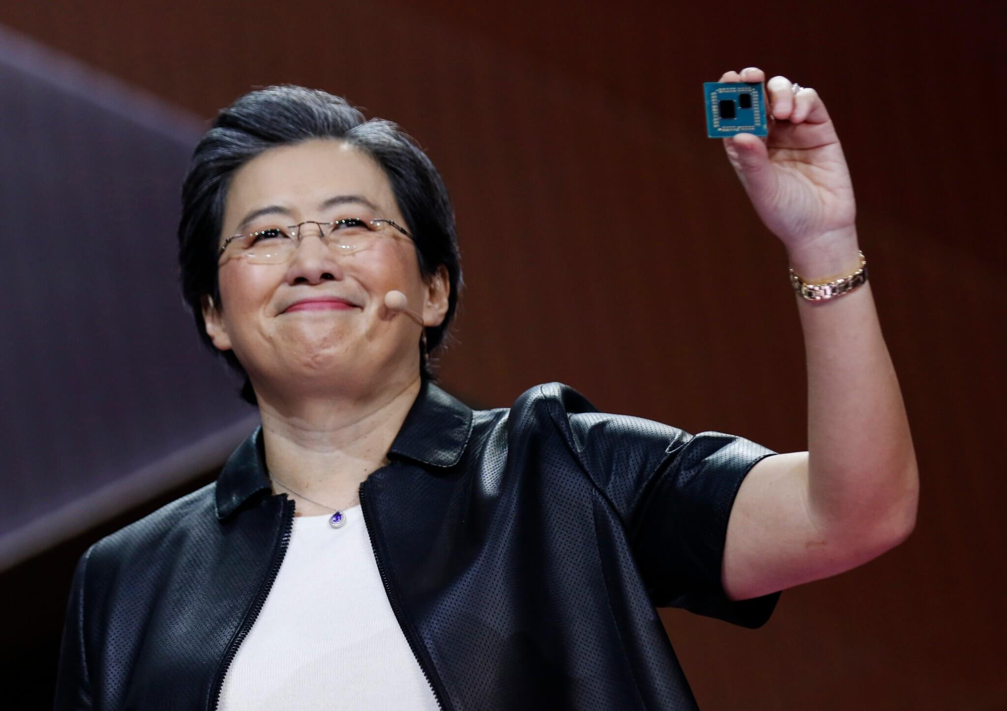 AMD teases third-generation Ryzen CPU during CES keynote