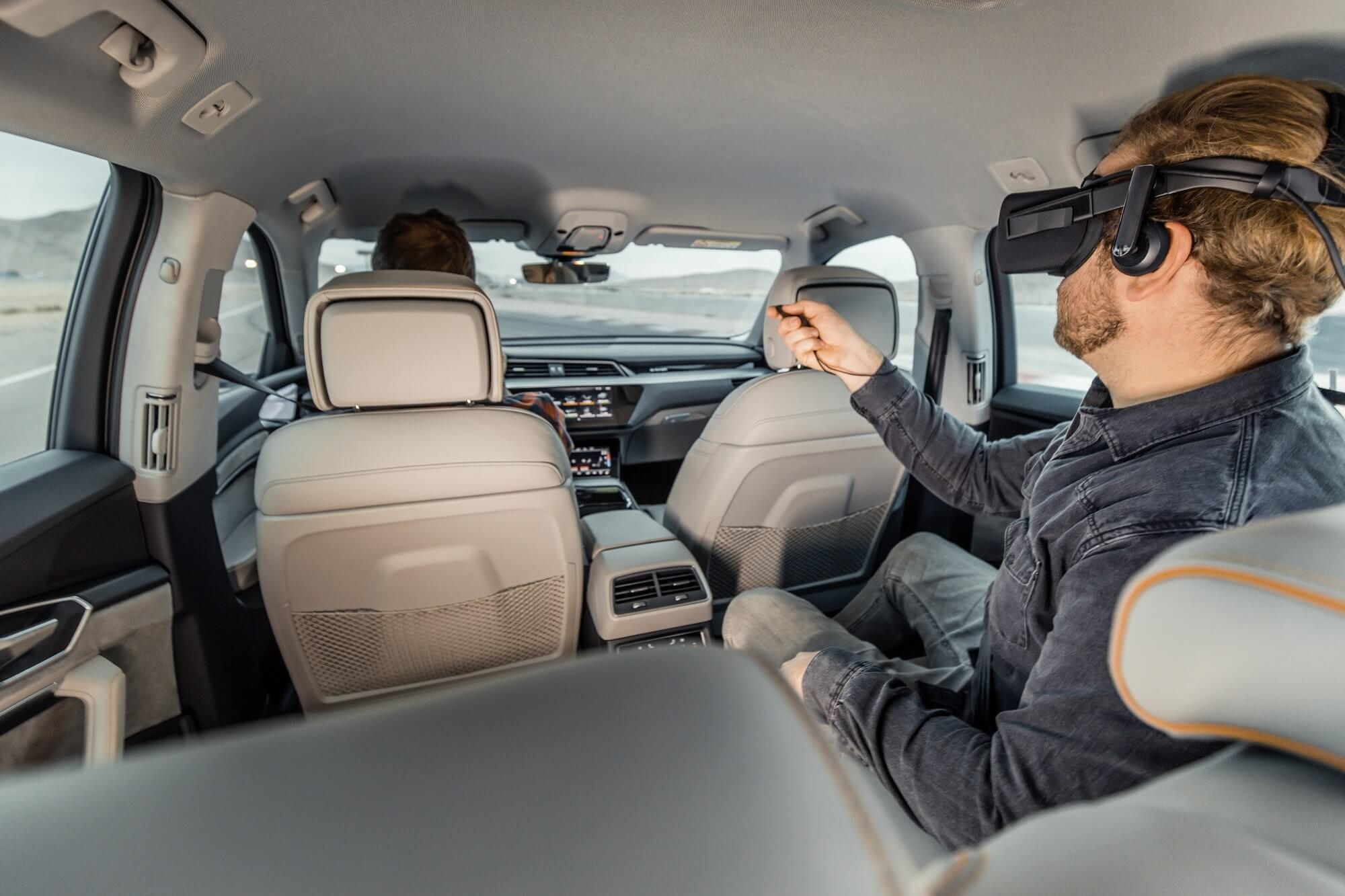 Audi's Virtual Reality Experience Moves With The Car