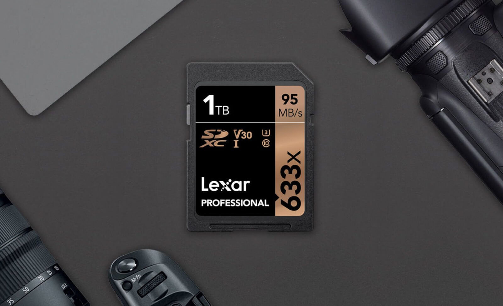 Lexar introduces world's first 1TB SD Card