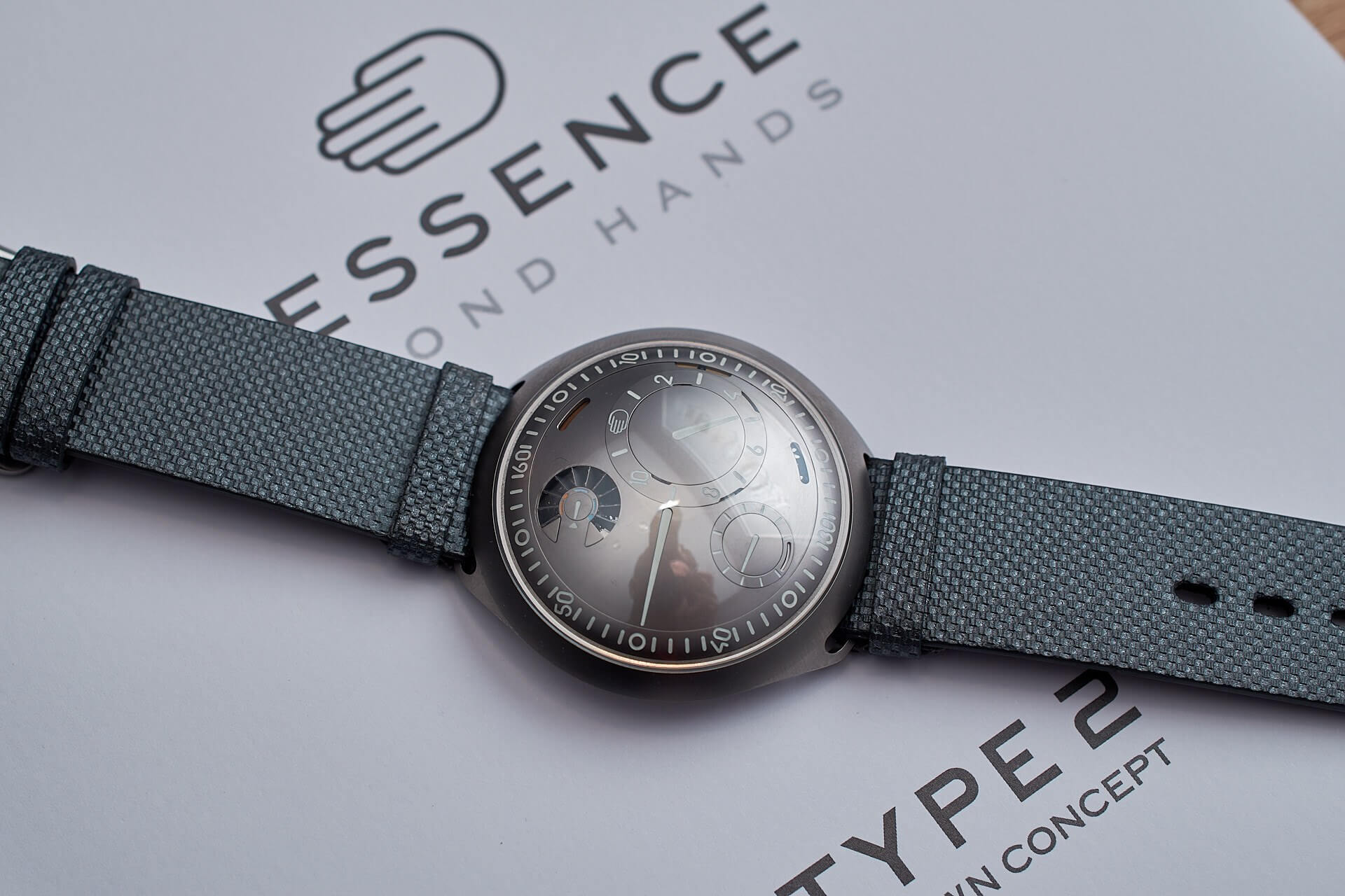 Ressence's high-tech luxury mechanical watch Type 2 launches this April, for $42,500