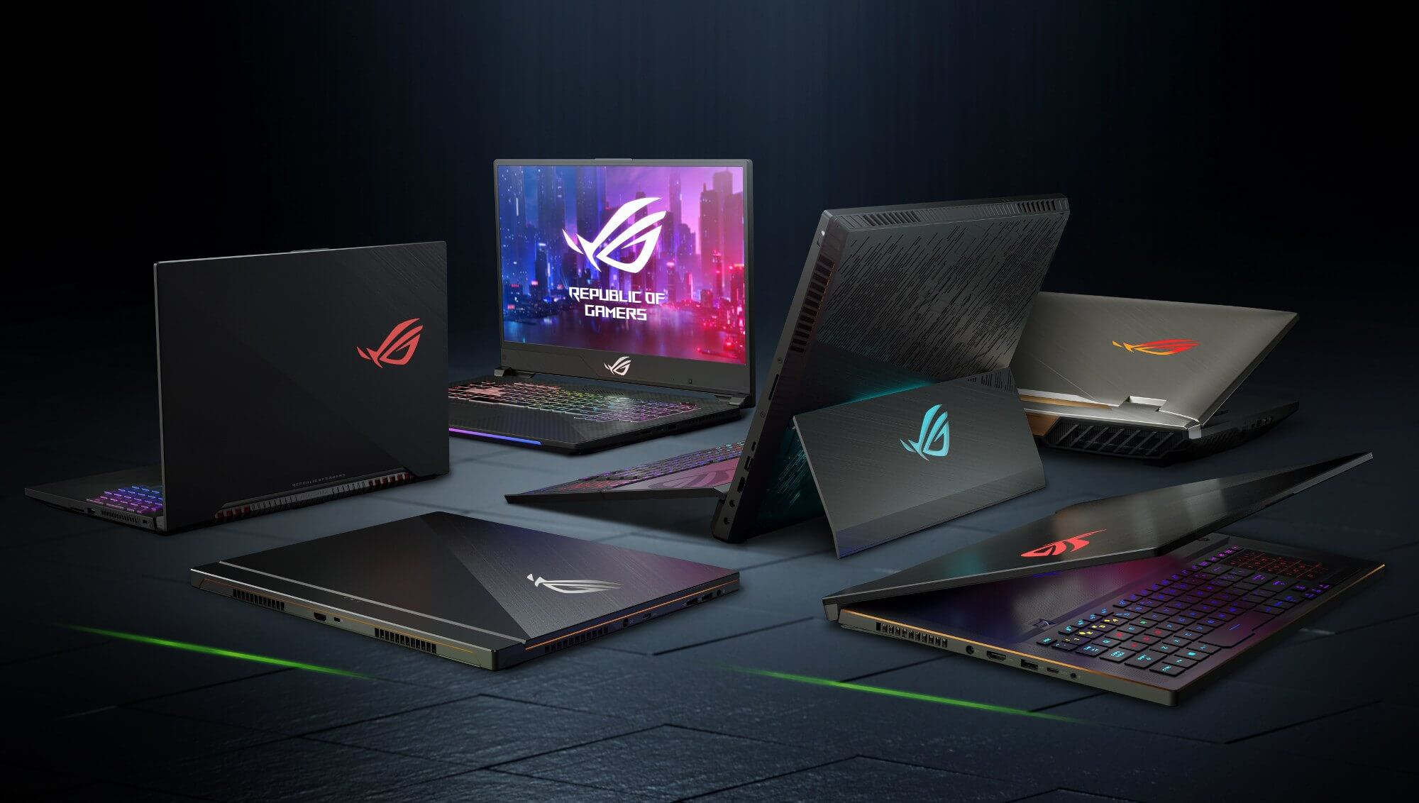 Hardware for gamers: All the Asus ROG products showcased at