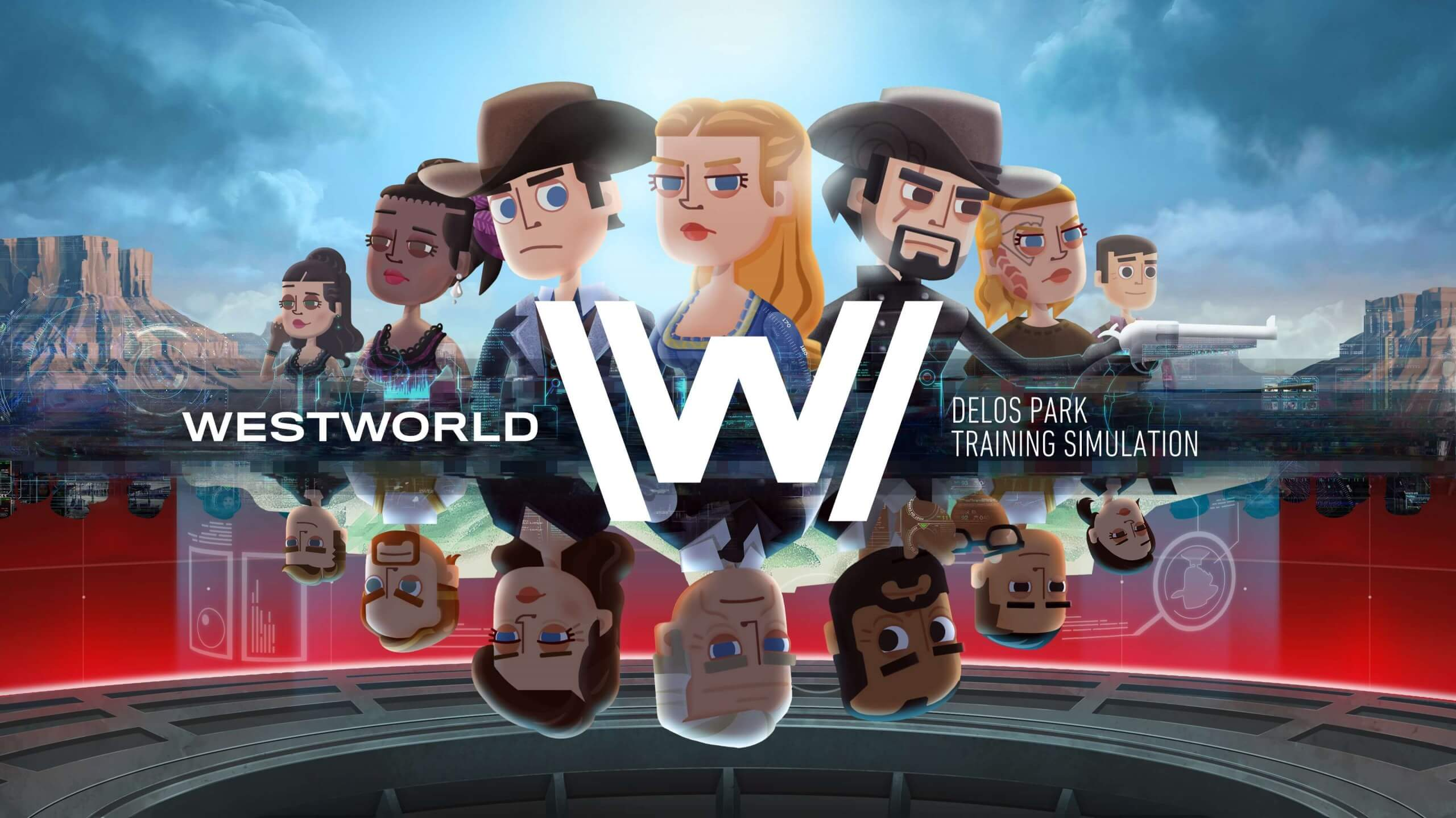 Image result for westworld mobile game