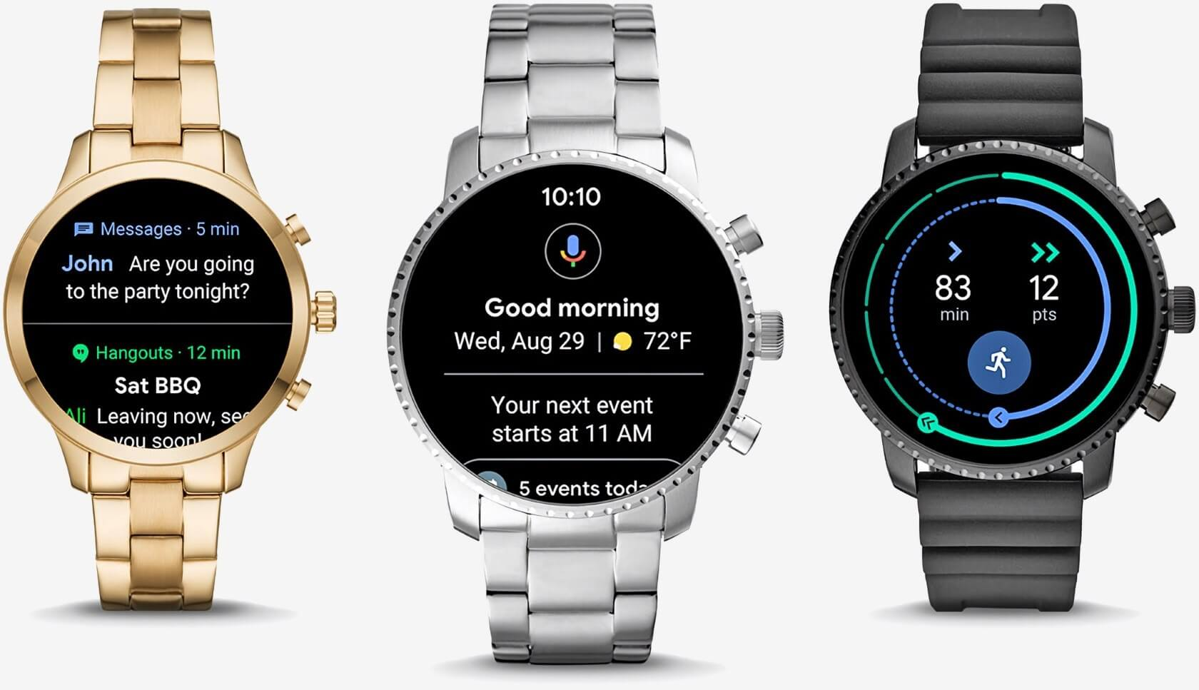 Google to acquire $40 million worth of Fossil's smartwatch