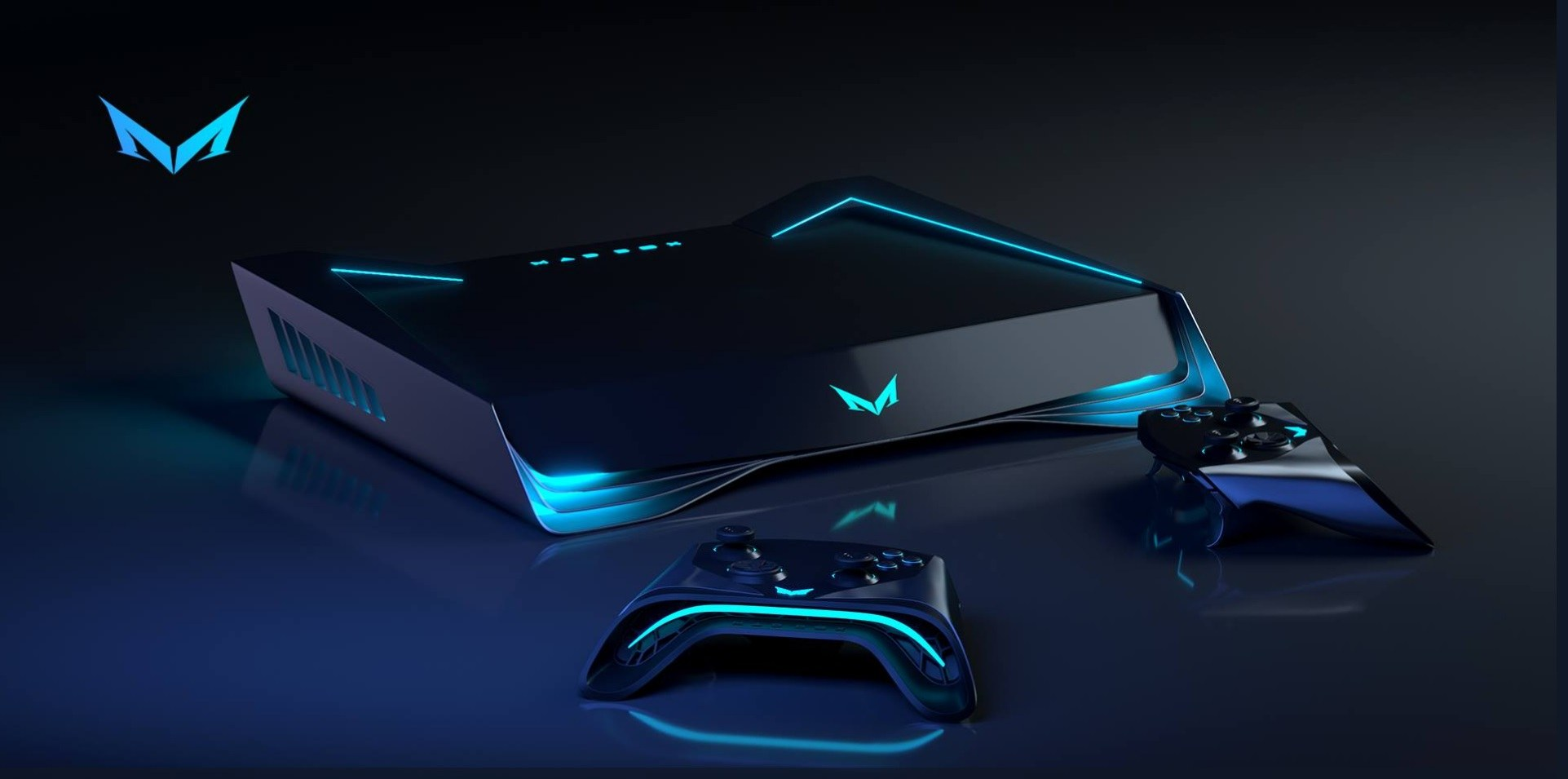 Concept images of the Mad Box, the most powerful console ever made, posted online