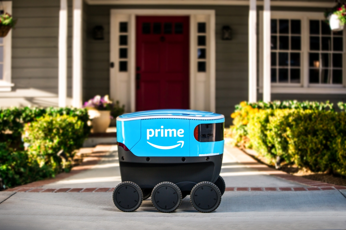 Amazon tests delivery robots in Snohomish County