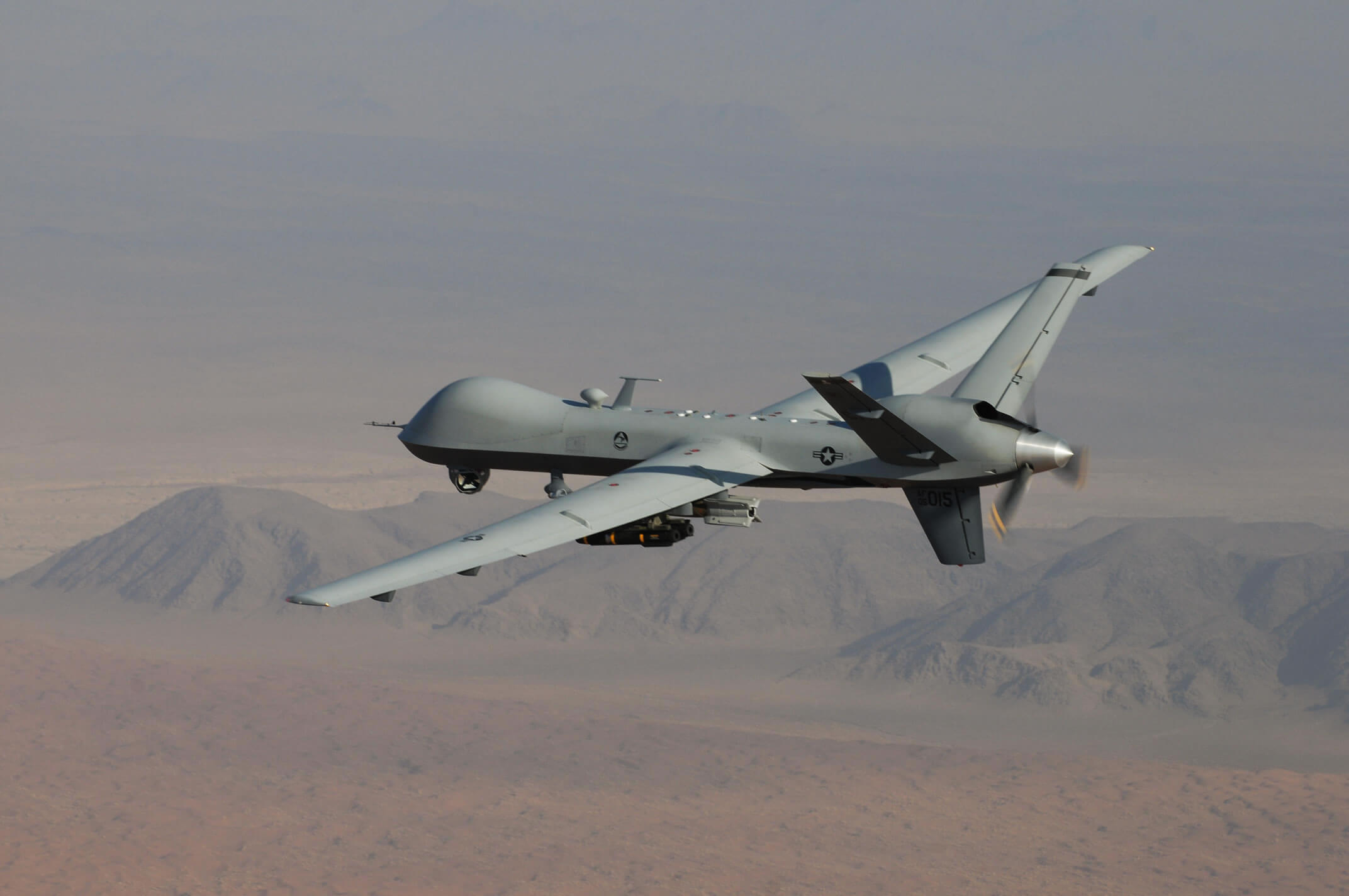The Pentagon deployed more drones domestically last year than the previous five years combined