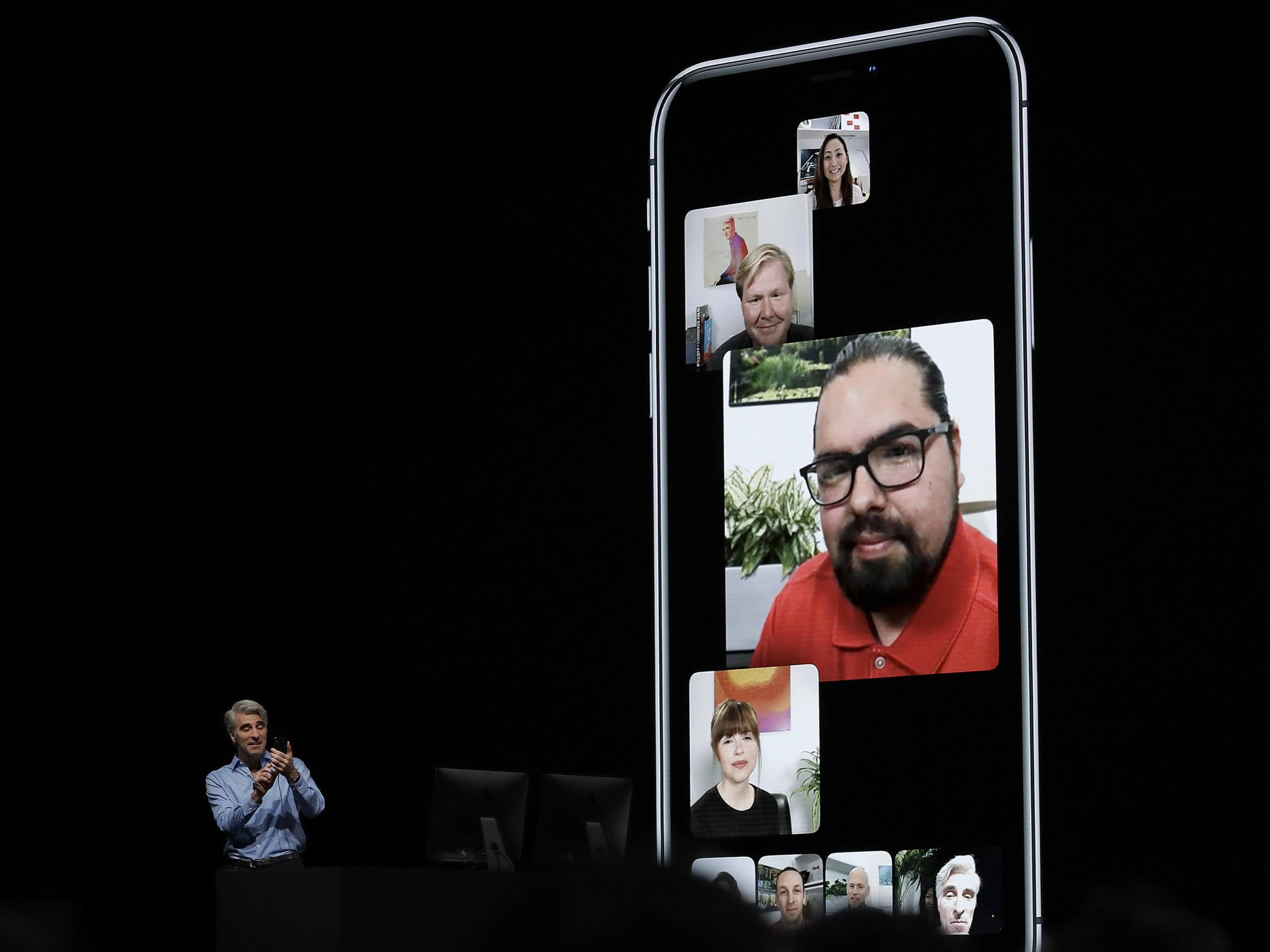 Image result for apple group facetime
