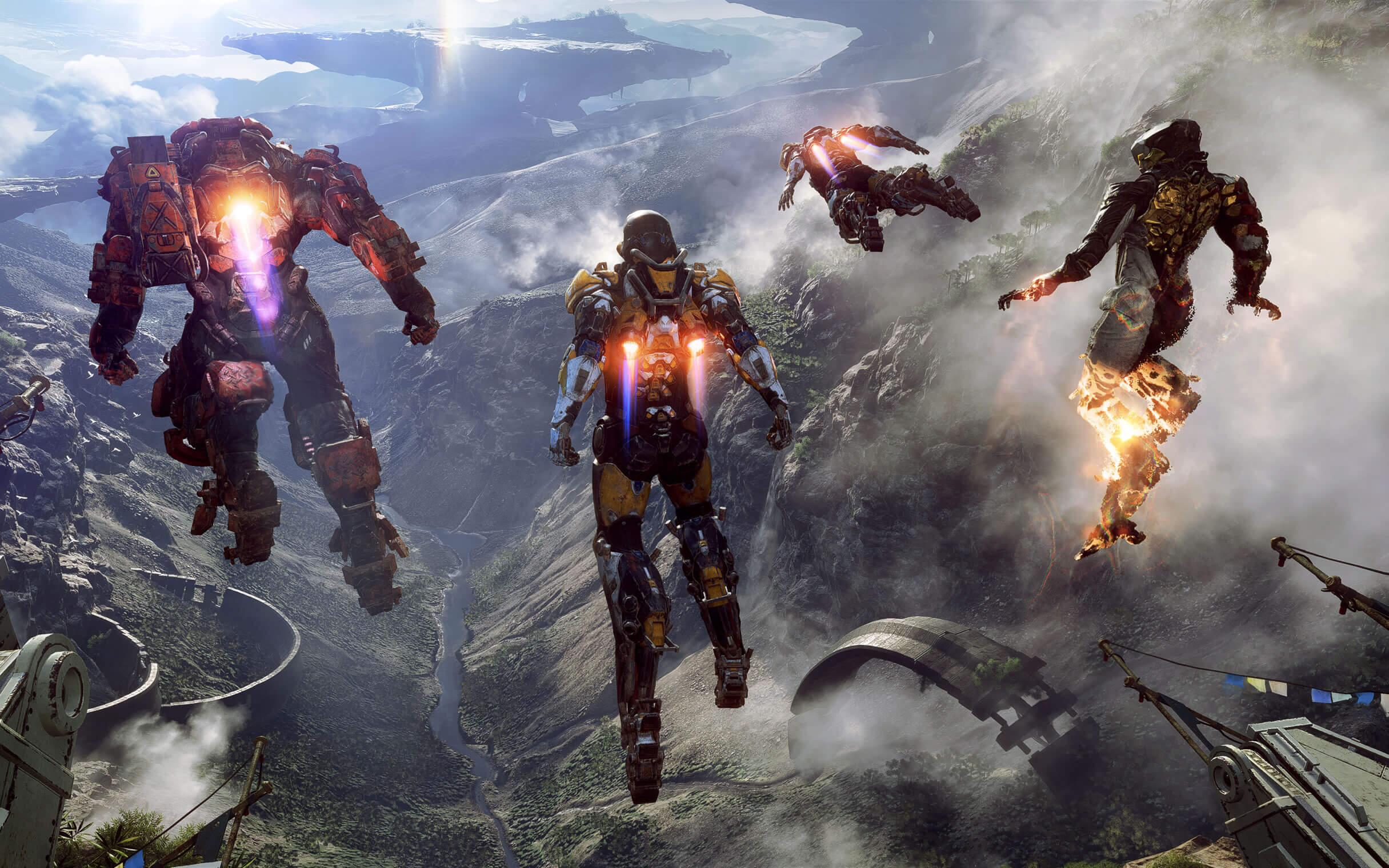 BioWare's Anthem demo is free-for-all this weekend, play it now