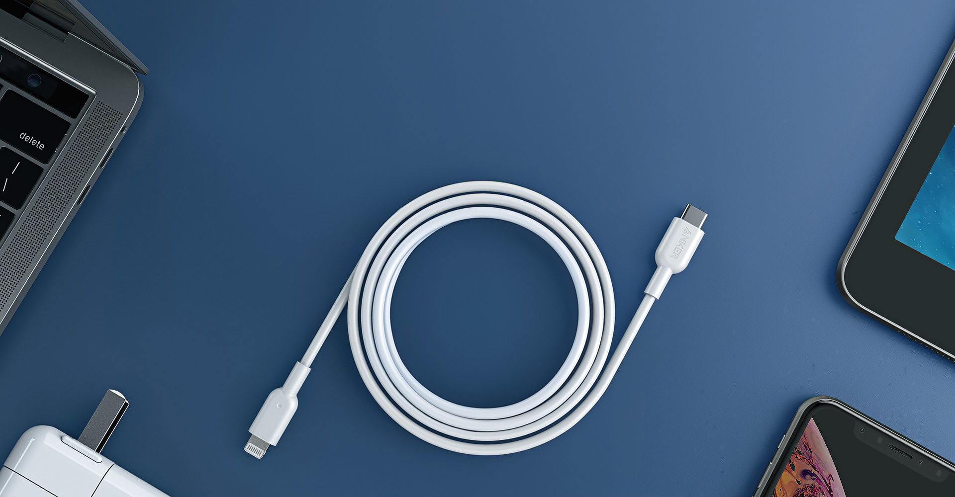 Anker's MFi-certified USB-C to Lightning cable launches this month