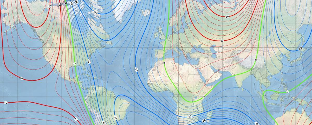 Magnetic north is moving quickly causing compasses to show misleading directions