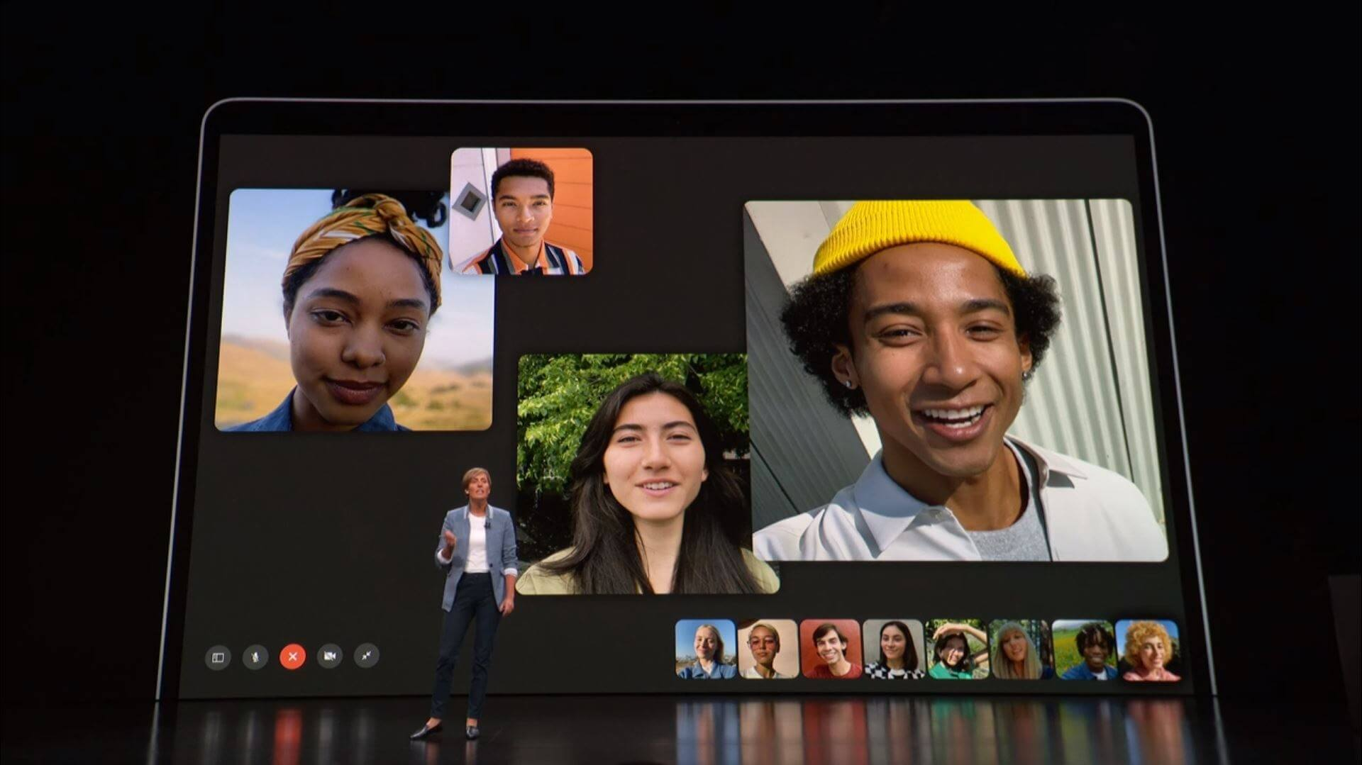 Fixes Group FaceTime privacy bug