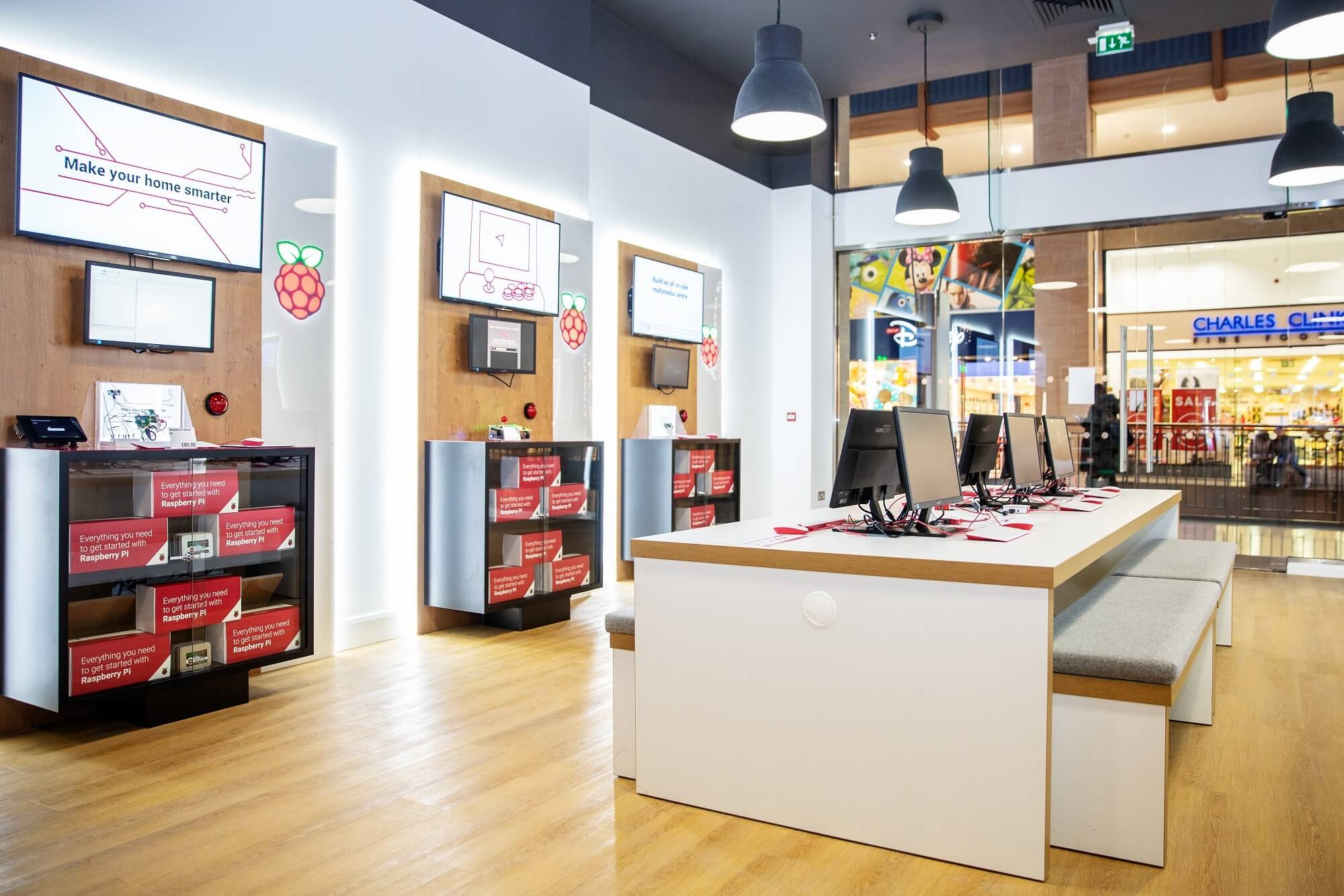 Raspberry Pi opens its first brick-and-mortar store
