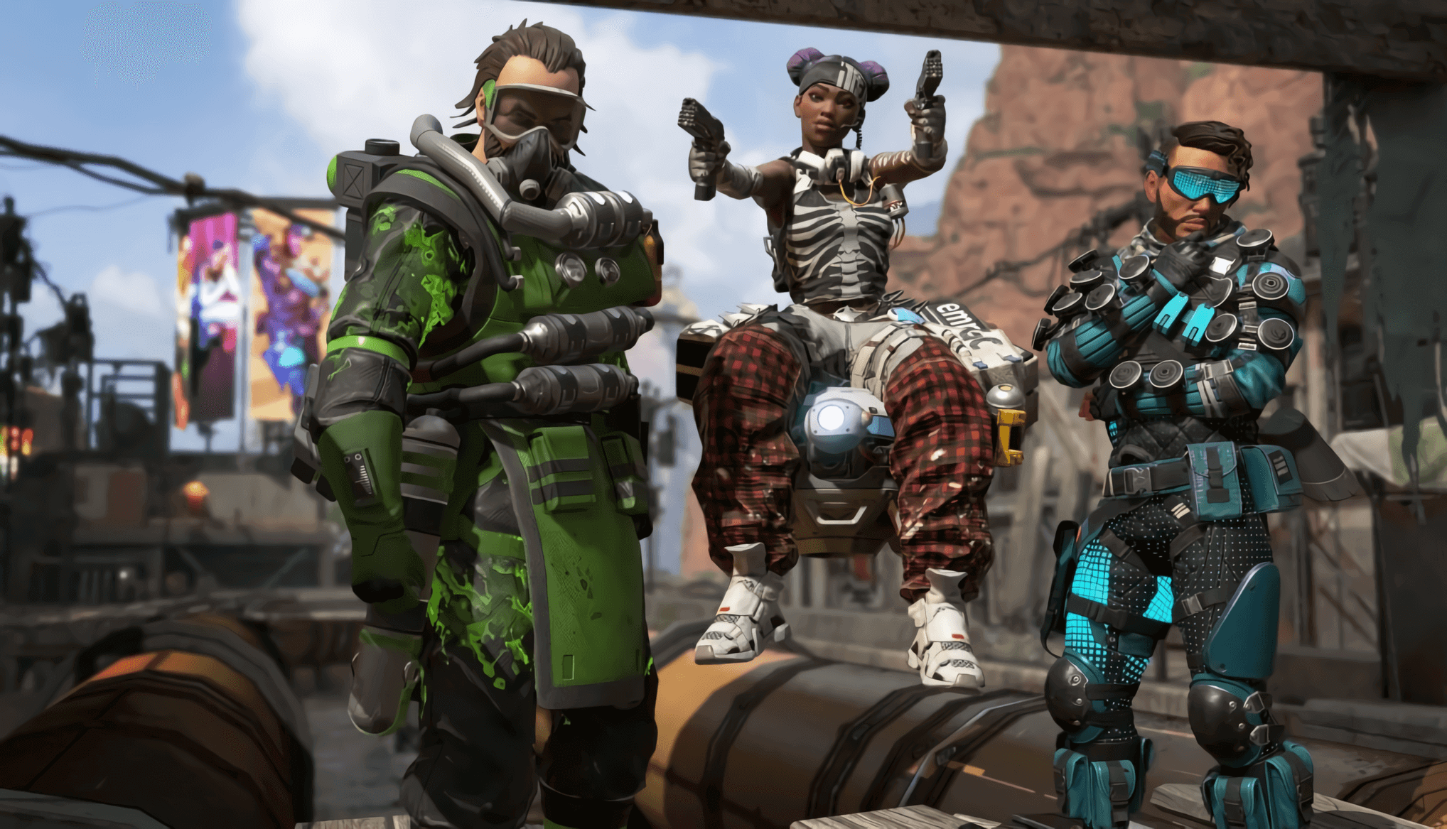Epic Games utilizes Fortnite advertisements to thwart Apex Legends
