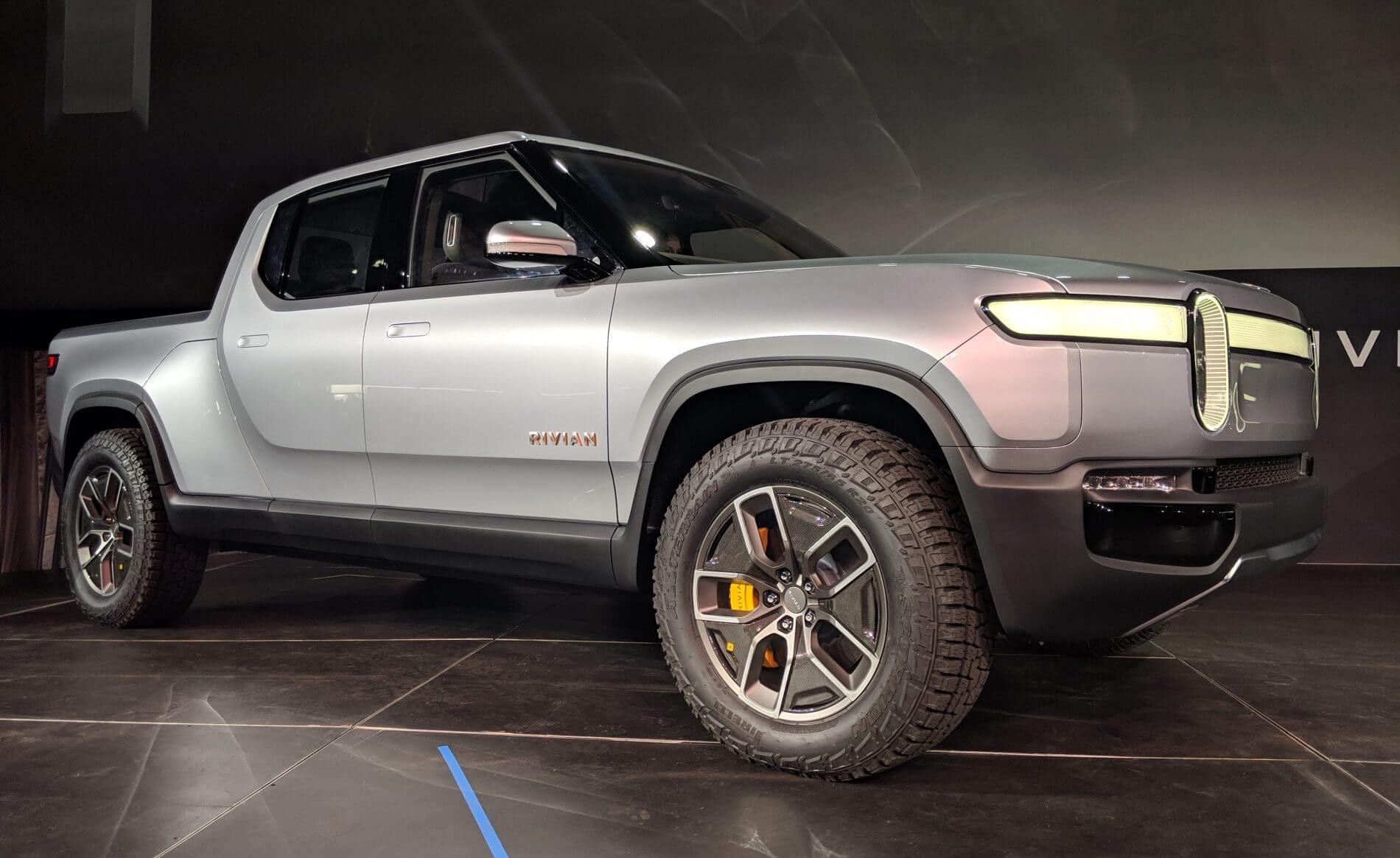 Amazon and GM may help fund an electric pickup truck by Rivian