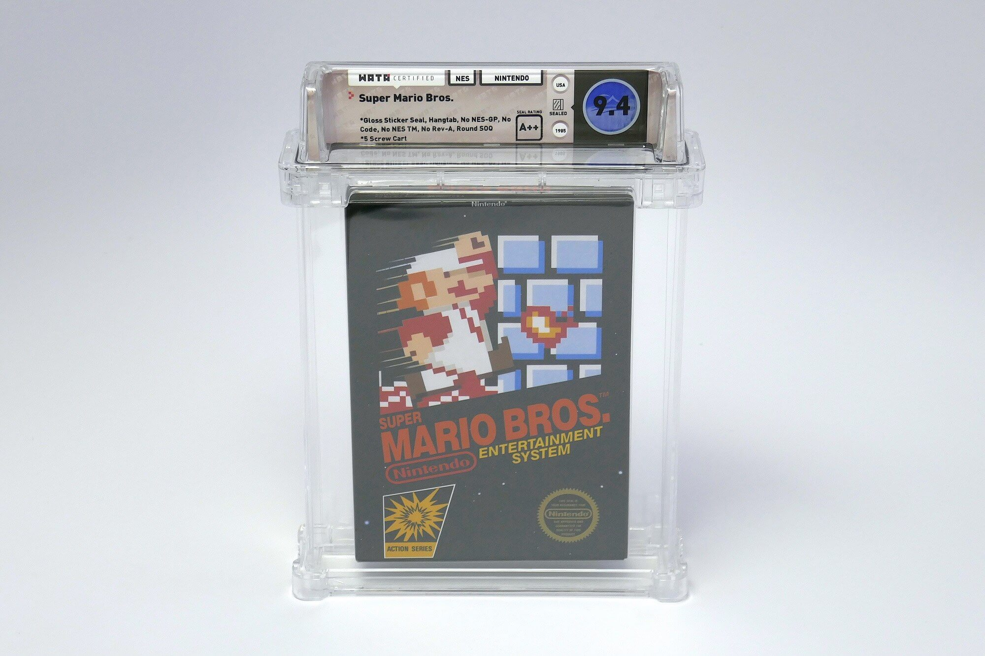 Rare Super Mario Bros. game sells for $100,150