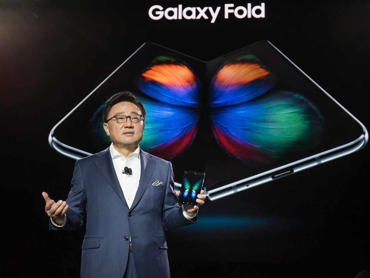 Samsung already at work on new smartphones with foldable screens