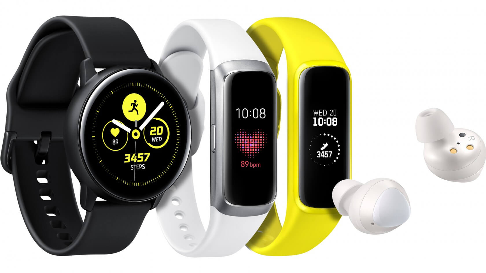 Samsung unveils the Galaxy Buds, the Galaxy Watch Active, and the Galaxy Fit
