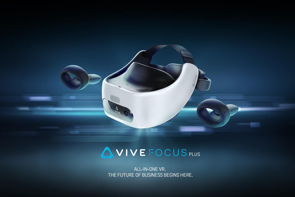 HTC Vive Focus Plus launching in Q2 with two 6DoF controllers