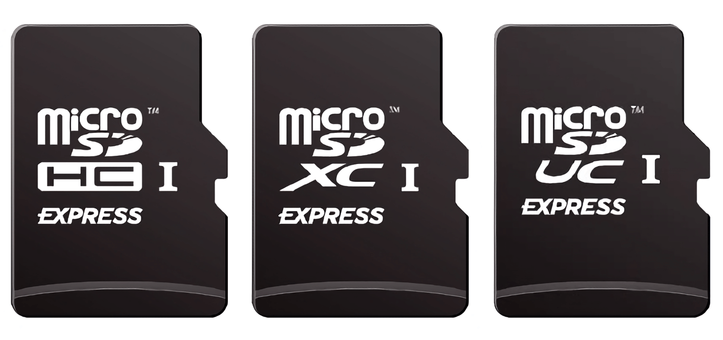 MicroSD Express allows for removable SSD levels of performance