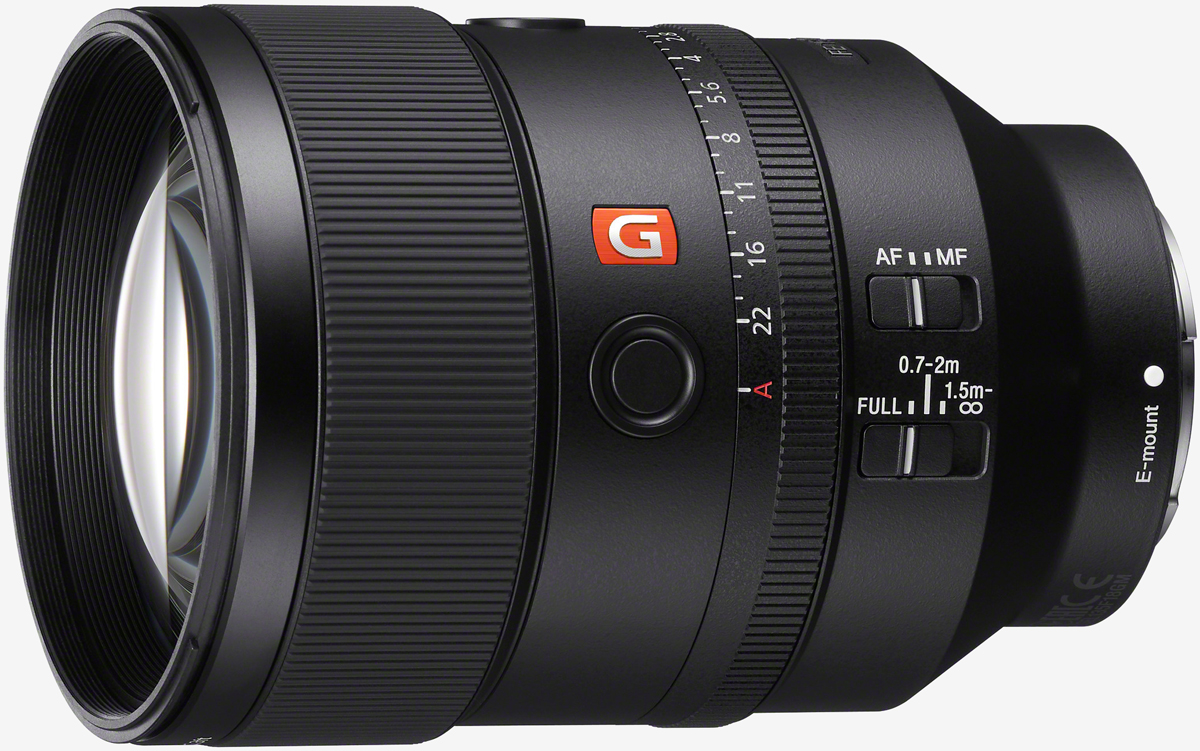 Sony announces its 49th E-mount lens, the 135mm f/1.8 G Master