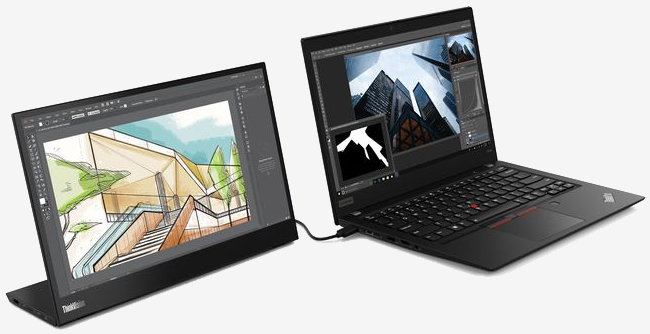 Lenovo introduces the ThinkVision M14, a 14-inch portable USB-C