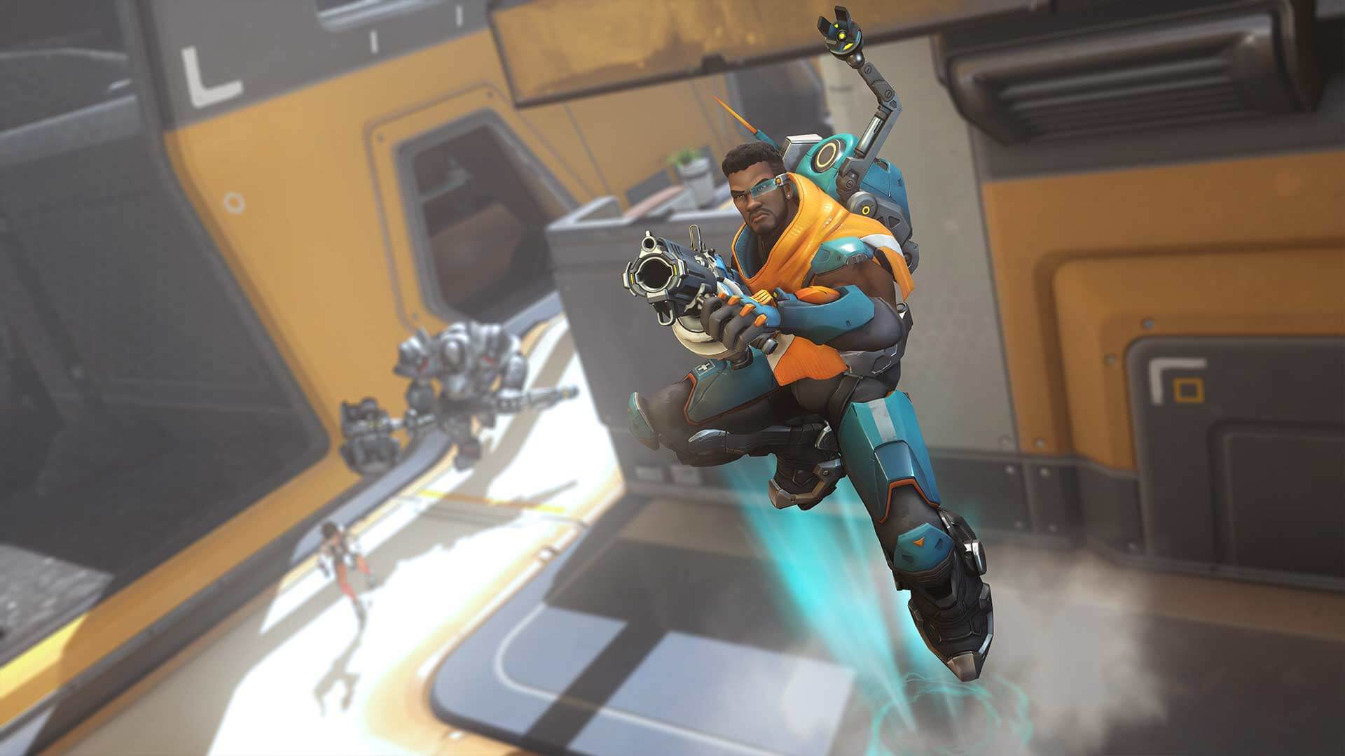 Baptiste is the newest Overwatch hero