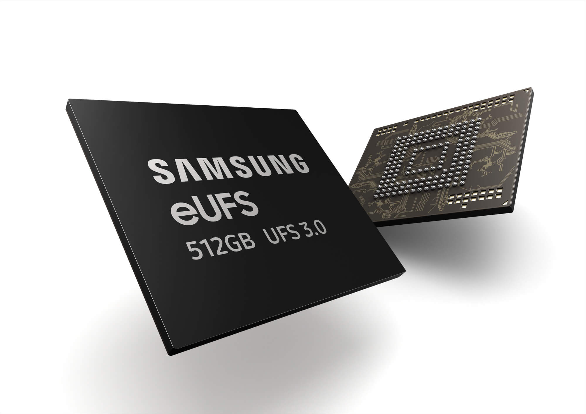 Samsung's EUFS 3.0 Storage is Twice as Fast and will Scale up to 1TB
