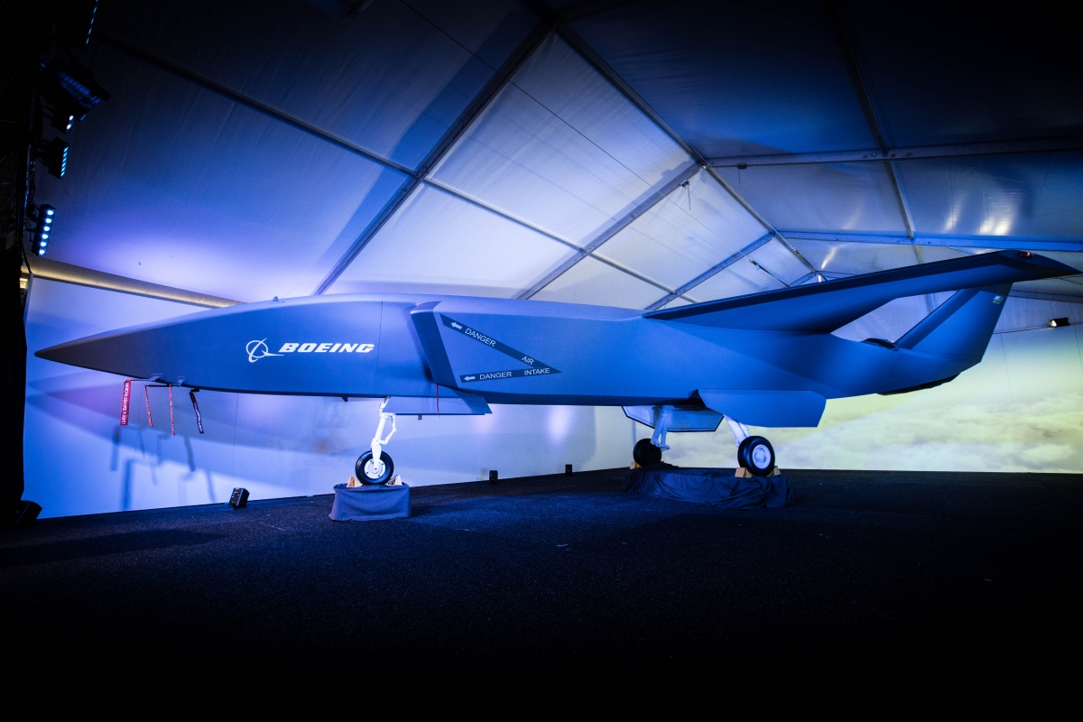 Boeing's unmanned fighter jet is the future of air combat