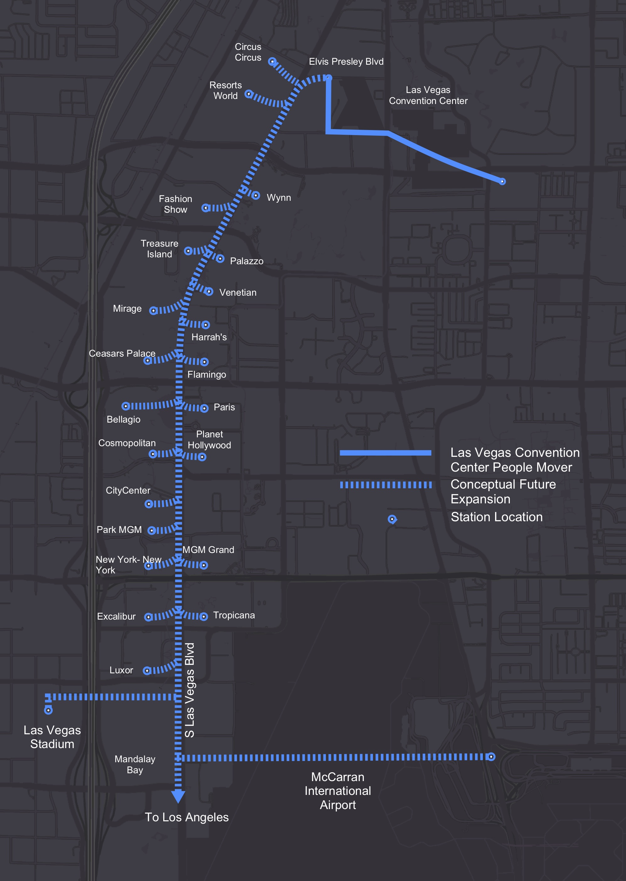 Las Vegas wants The Boring Company to construct tunnel under