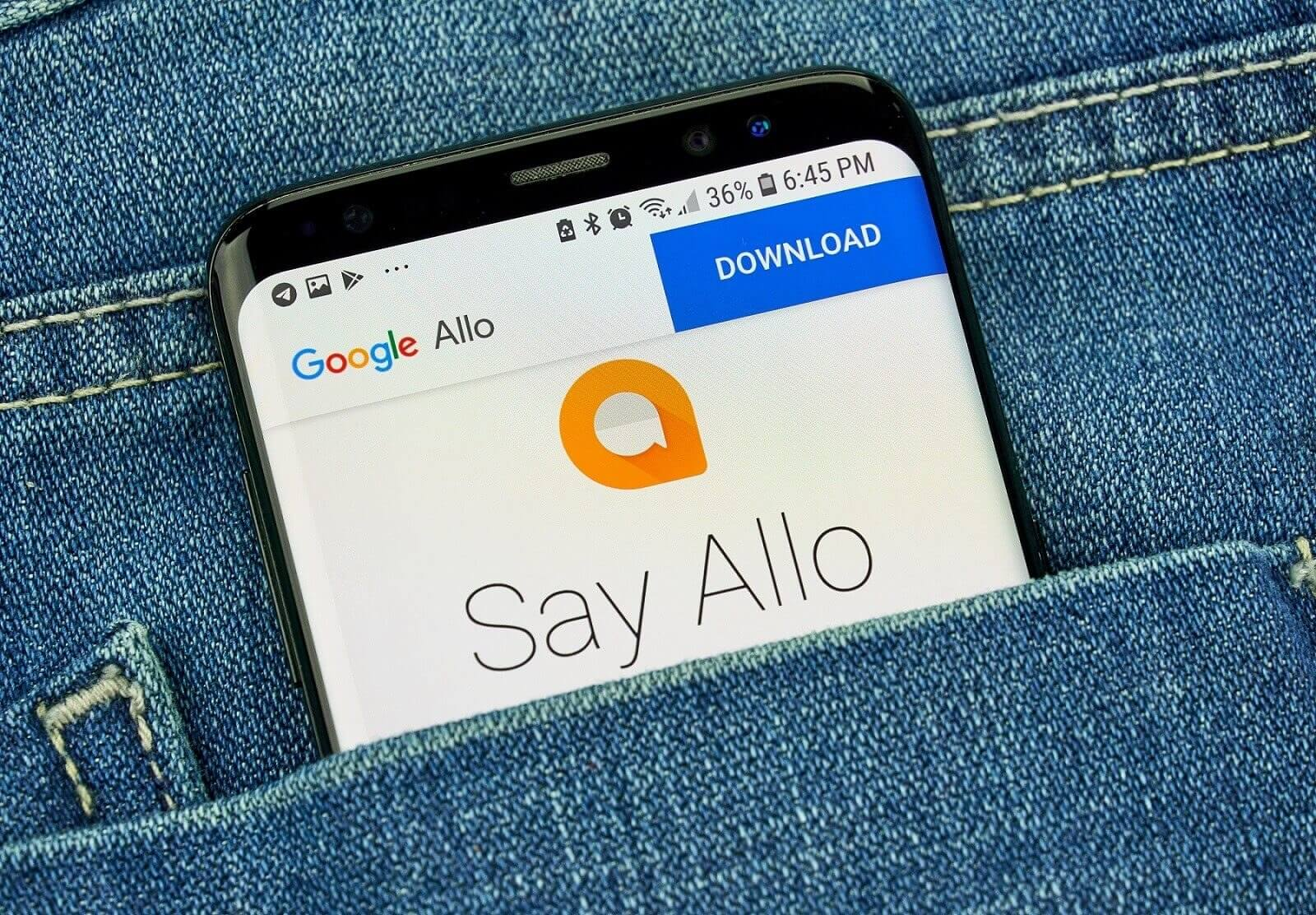 Google Allo Says