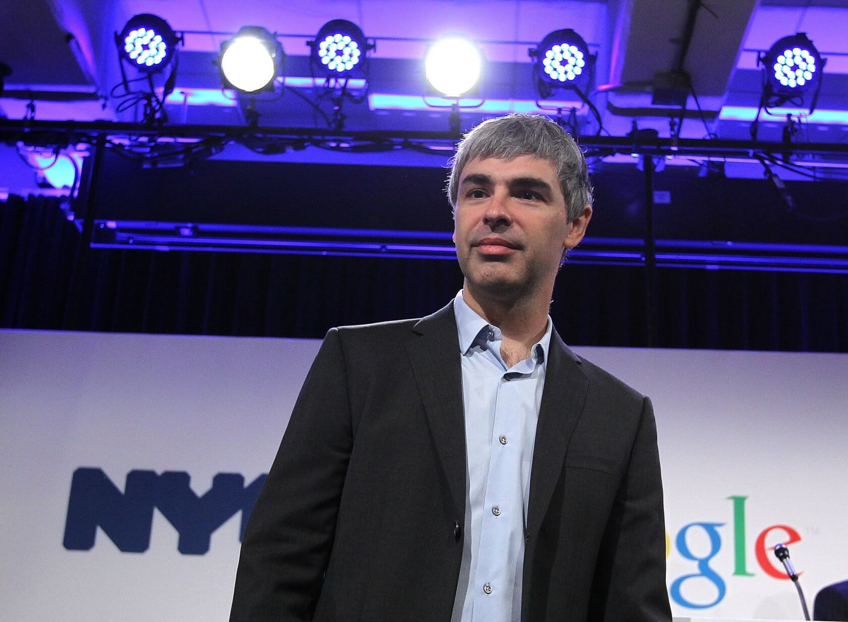 Google co-founder Larry Page made a veiled threat to leave the company in 2011