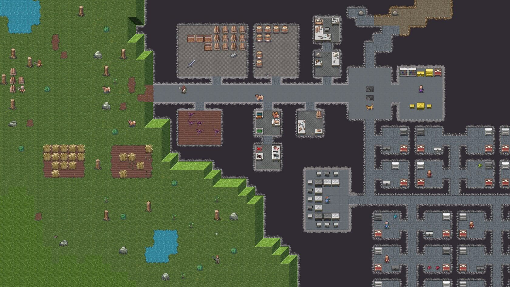 Dwarf Fortress will re-launch on Steam with real graphics, better