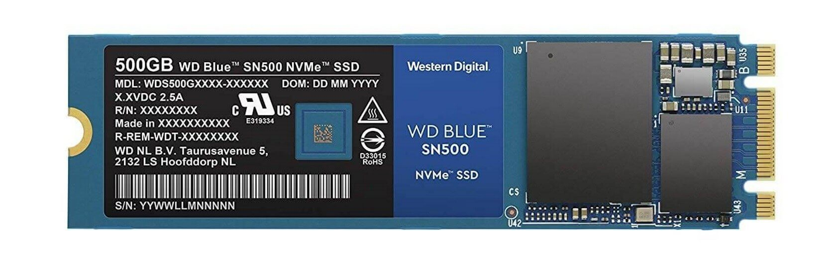 Western Digital announces the 'Blue SN500,' a budget