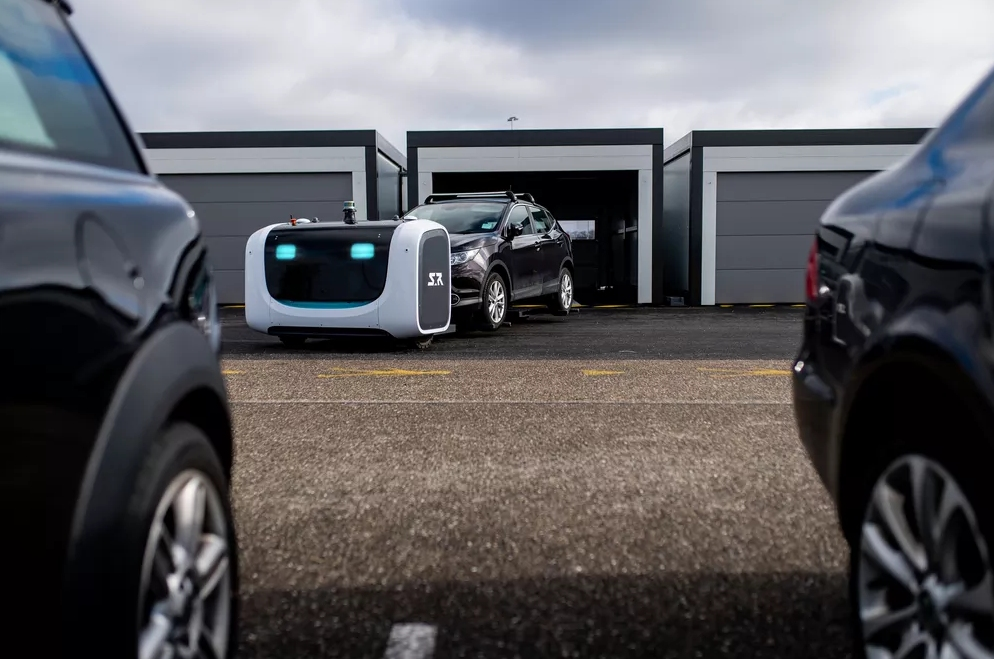 Robot Valets are Now Parking Vehicles at an Airport in France