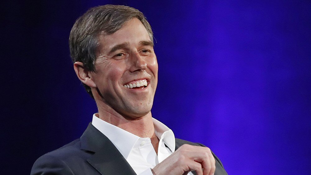 Democratic 2020 candidate Beto O'Rourke was a member of a hacking group
