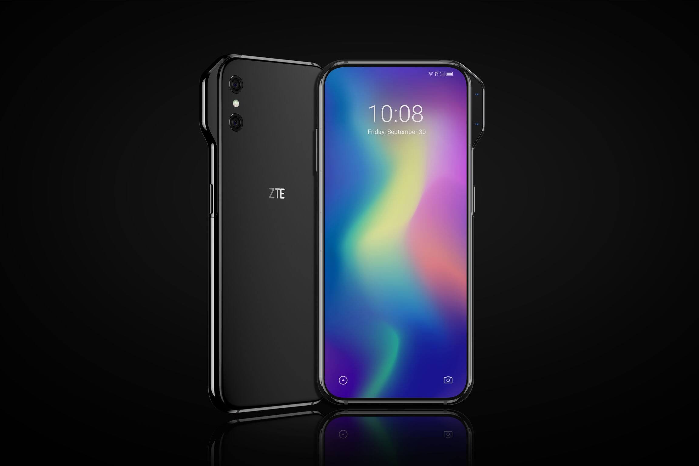 ZTE's slider and side-notch concept phones revealed - TechSpot