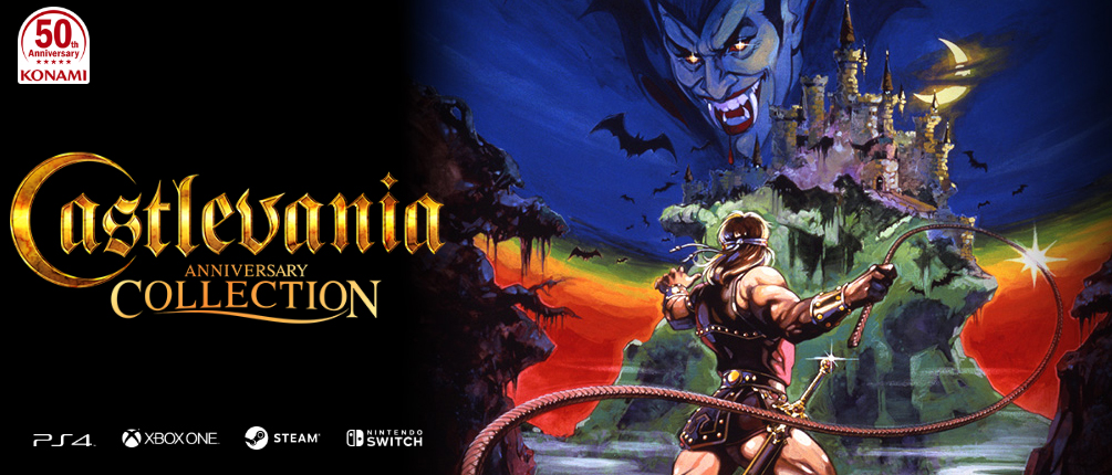 Konami's Anniversary Collection series includes Castlevania and Contra