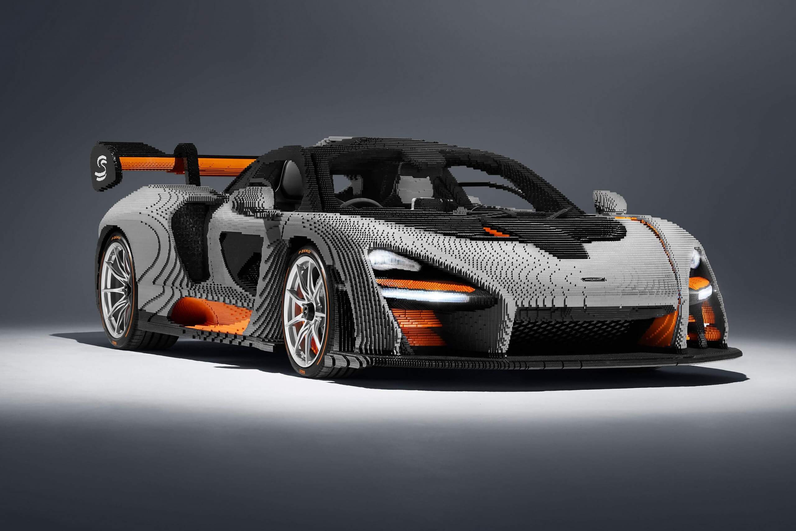 Lego's latest 1:1 replica is the McLaren Senna, which took four months and 467,854 bricks to build