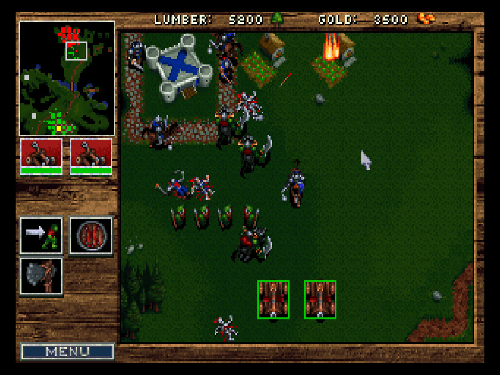 Warcraft: Orcs & Humans and Warcraft II Battle net Edition