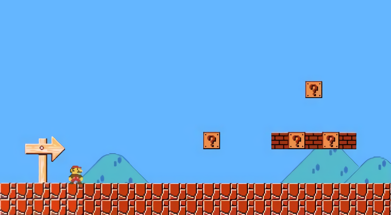 Play Super Mario Bros  made with Super Mario Maker inside