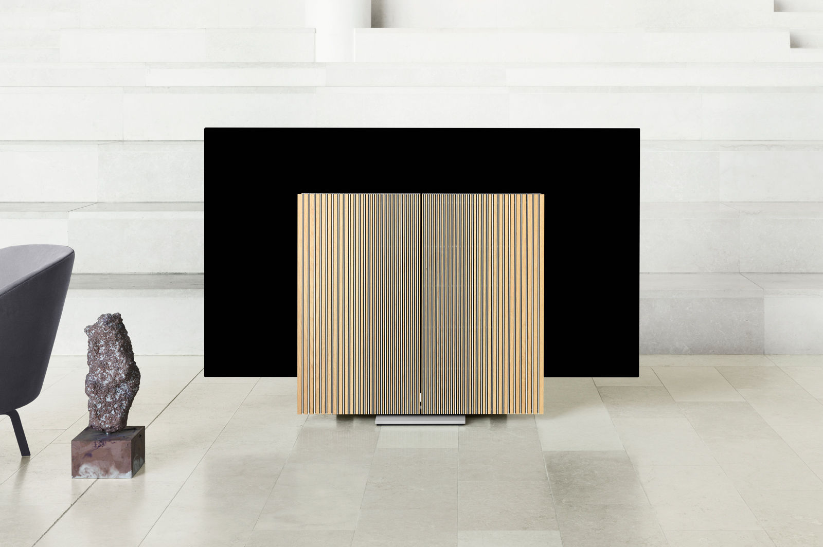 bang olufsen unveils the beovision harmony an all in one tv and speaker system techspot. Black Bedroom Furniture Sets. Home Design Ideas