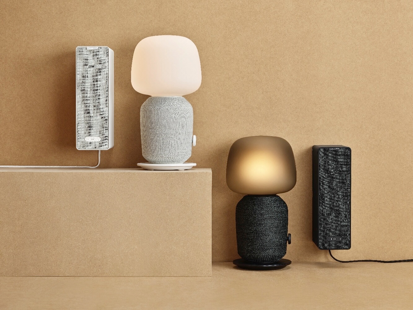 Sonos and Ikea announce speakers disguised as lamps
